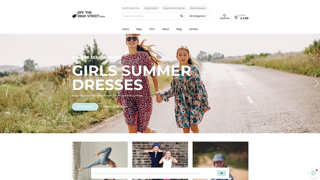 OTHS website design & development