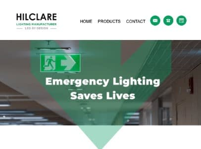 Hilclare emergency lighting
