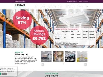 Hilclare Website Design